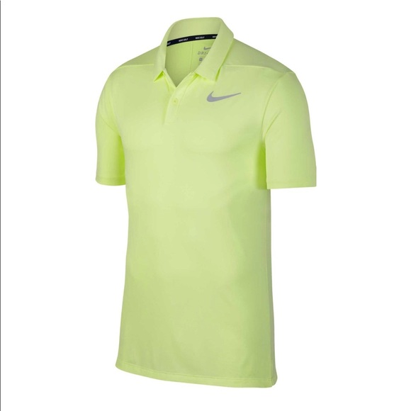 b24a19d3 Nike Shirts | Mens Neon Yellow Golf Polo | Poshmark